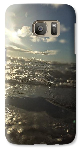 Galaxy Case featuring the photograph Cold And Fresh by Paula Brown