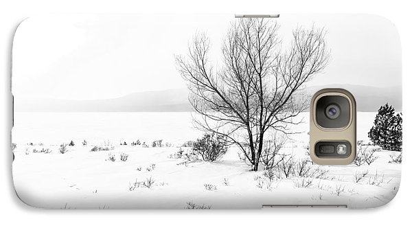 Galaxy Case featuring the photograph Cold Loneliness by Hayato Matsumoto
