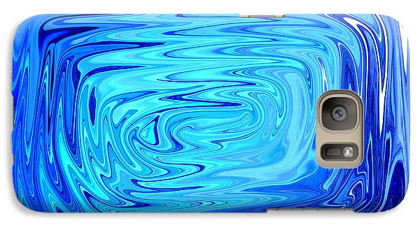 Galaxy Case featuring the digital art Cold 2 by Mary Bedy