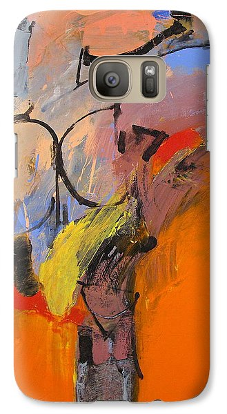 Galaxy Case featuring the painting Cold Shoulder  by Cliff Spohn