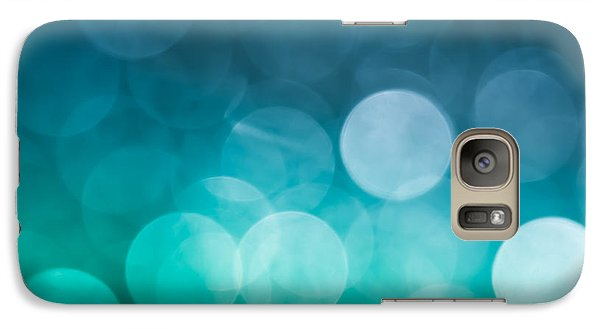 Galaxy Case featuring the photograph Cold Shower by Jan Bickerton