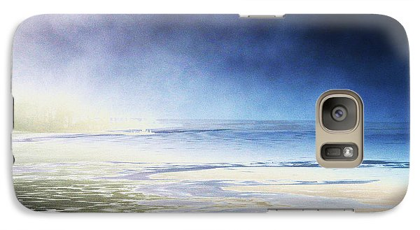 Galaxy Case featuring the photograph Cold by Steven Huszar