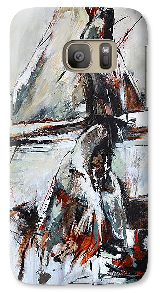 Galaxy Case featuring the painting Cold Winter Day by Cher Devereaux
