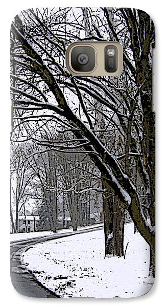 Galaxy Case featuring the photograph Cold Winter Day by Skyler Tipton