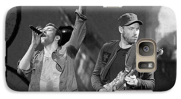 Coldplay 14 Galaxy Case by Rafa Rivas