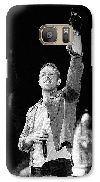 Coldplay 16 Galaxy S7 Case by Rafa Rivas