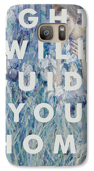 Coldplay Lyrics Print Galaxy S7 Case