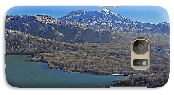 Galaxy Case featuring the photograph Coldwater Lake by Jack Moskovita
