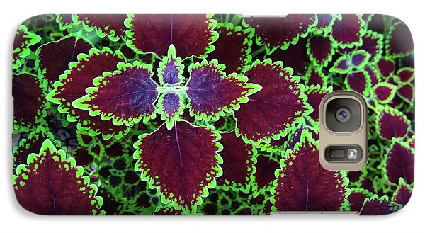 Coleus Leaves Galaxy S7 Case