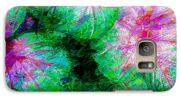 Galaxy Case featuring the photograph Coleus by Paul Wear