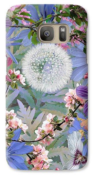 Galaxy Case featuring the digital art Collage One by John Selmer Sr