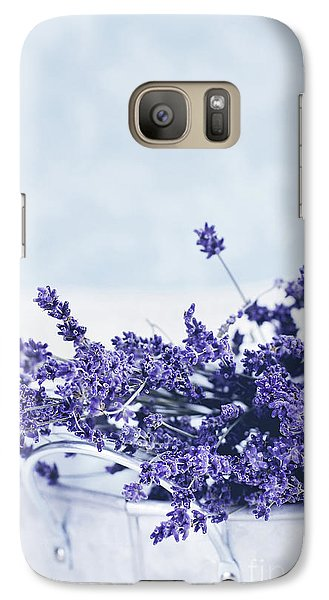 Galaxy Case featuring the photograph Collection Of Lavender  by Stephanie Frey