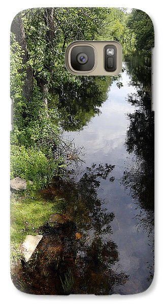 Galaxy Case featuring the photograph Collins Creek June 15 2015 by Jim Vance