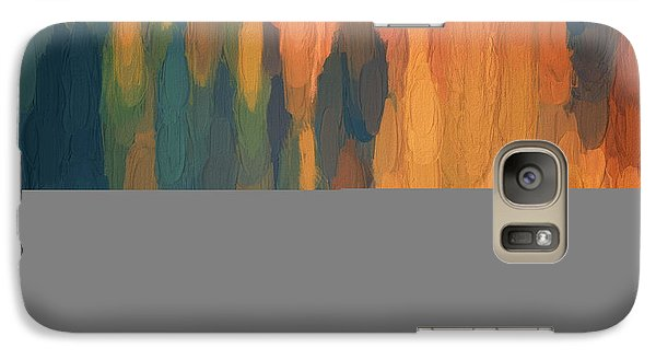 Galaxy Case featuring the digital art Color Abstraction L Sq by David Gordon