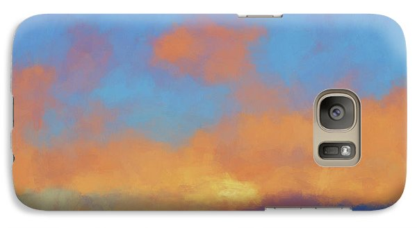 Galaxy Case featuring the digital art Color Abstraction Lvii by David Gordon