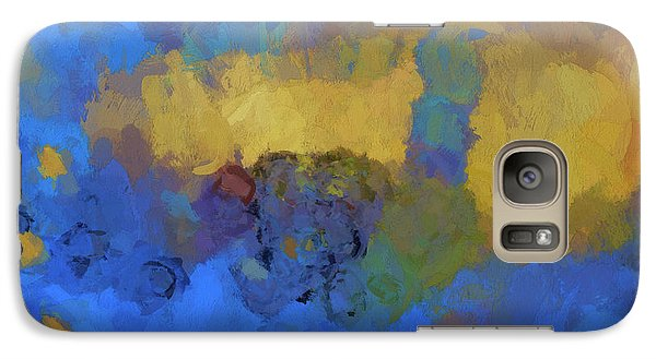 Galaxy Case featuring the digital art Color Abstraction Lviii by David Gordon