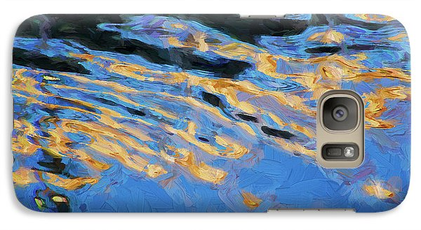 Galaxy Case featuring the photograph Color Abstraction Lxiv by David Gordon