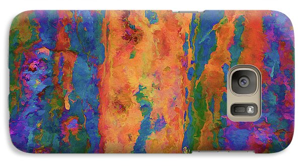 Galaxy Case featuring the photograph Color Abstraction Lxvi by David Gordon