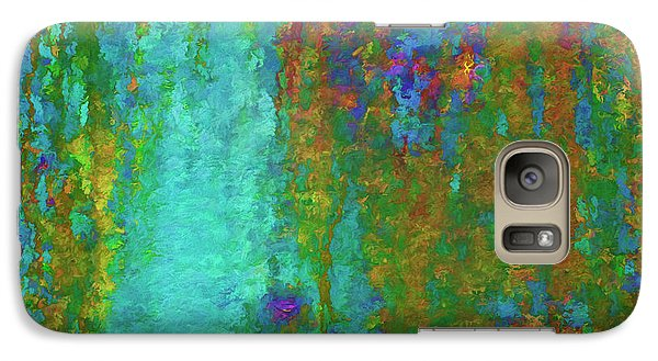 Galaxy Case featuring the photograph Color Abstraction Lxvii by David Gordon