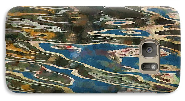 Galaxy Case featuring the photograph Color Abstraction Lxxv by David Gordon
