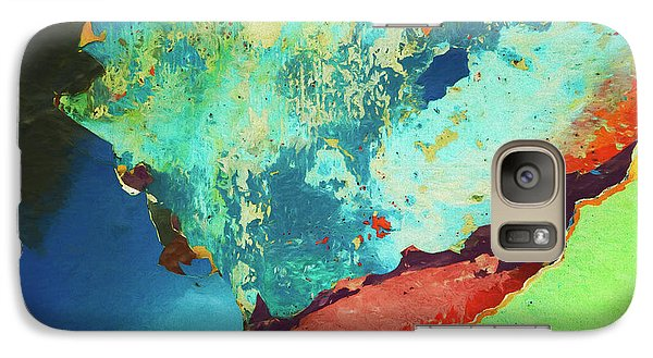 Galaxy Case featuring the photograph Color Abstraction Lxxvi by David Gordon