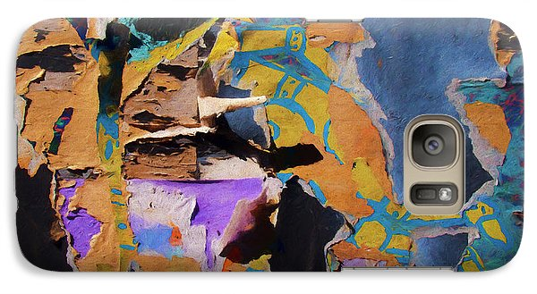 Galaxy Case featuring the photograph Color Abstraction Lxxvii by David Gordon