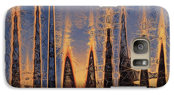 Galaxy Case featuring the photograph Color Abstraction Xl by David Gordon