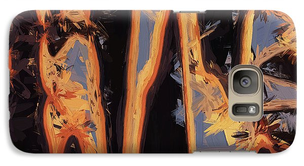 Galaxy Case featuring the digital art Color Abstraction Xli by David Gordon