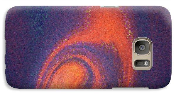Galaxy Case featuring the digital art Color Abstraction Xlii by David Gordon