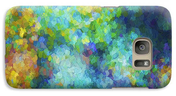 Galaxy Case featuring the digital art Color Abstraction Xliv by David Gordon