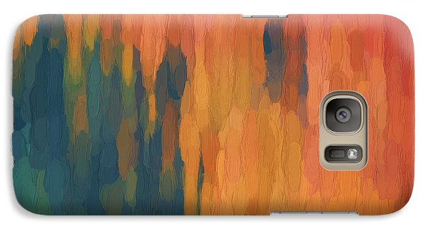 Galaxy Case featuring the digital art Color Abstraction Xlix by David Gordon
