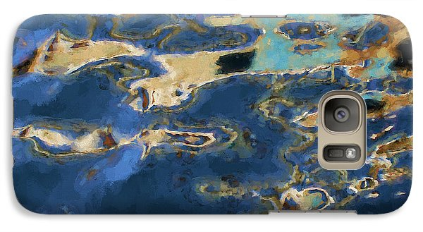 Galaxy Case featuring the photograph Color Abstraction Xxxvii - Painterly by David Gordon