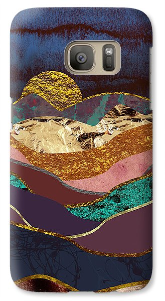 Landscapes Galaxy S7 Case - Color Fields by Katherine Smit