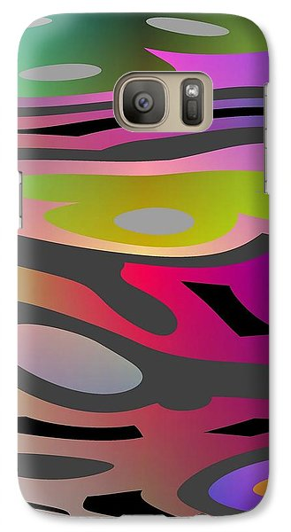 Galaxy Case featuring the digital art Color Fun 1 by Jeff Iverson