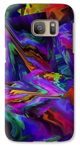 Galaxy Case featuring the digital art Color Journey by Lynda Lehmann