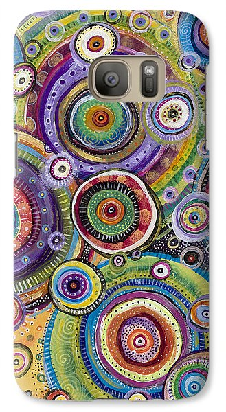 Galaxy Case featuring the painting Color Me Happy by Tanielle Childers