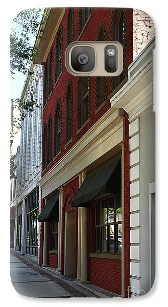 Galaxy Case featuring the photograph Color Me Main St Usa by Skip Willits