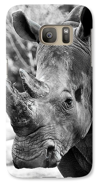 Galaxy Case featuring the photograph Color Me Rhino by John Haldane