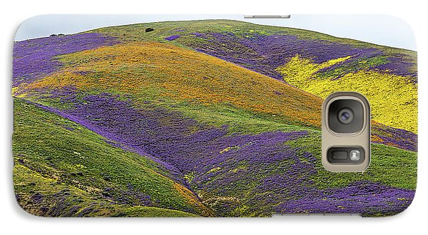 Galaxy Case featuring the photograph Color Mountain I by Peter Tellone