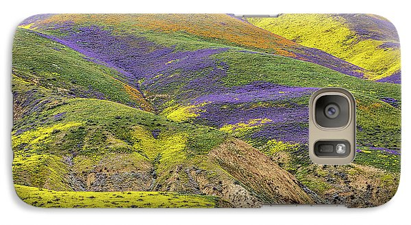 Galaxy Case featuring the photograph Color Mountain II by Peter Tellone