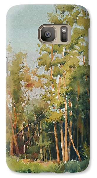 Galaxy Case featuring the painting Color Of Light by Helal Uddin