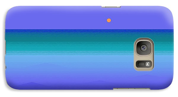 Galaxy Case featuring the digital art Color Of Water by Val Arie