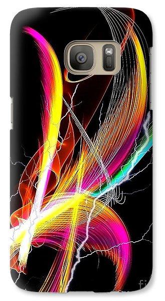 Galaxy Case featuring the digital art Color Palm By Nico Bielow by Nico Bielow