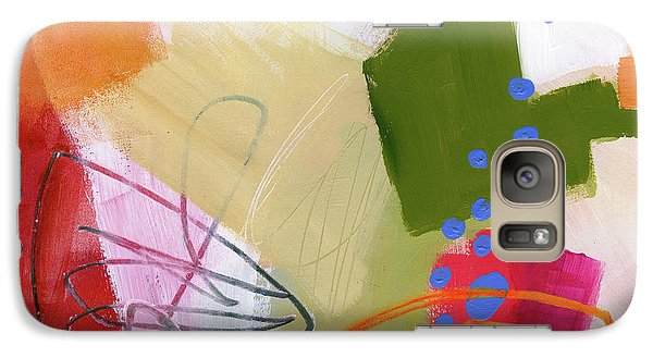 Color, Pattern, Line #4 Galaxy S7 Case by Jane Davies