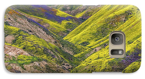 Galaxy Case featuring the photograph Color Valley by Peter Tellone