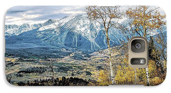 Galaxy Case featuring the photograph Colorado Autumn by Jim Hill