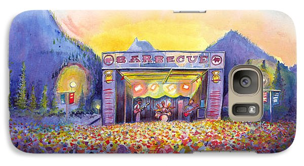 Galaxy Case featuring the painting Colorado Bbq Challenge Frisco by David Sockrider