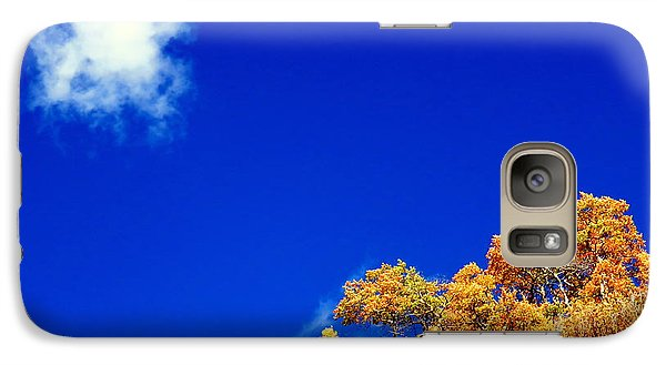 Galaxy Case featuring the photograph Colorado Blue by Karen Shackles