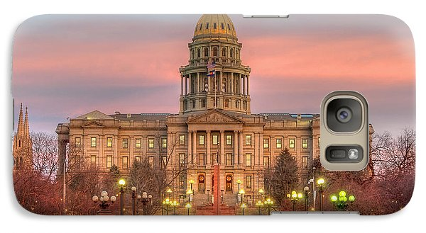 Galaxy Case featuring the photograph Colorado Capital by Gary Lengyel