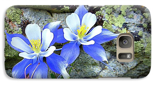 Colorado Columbines Galaxy S7 Case by Karen Shackles